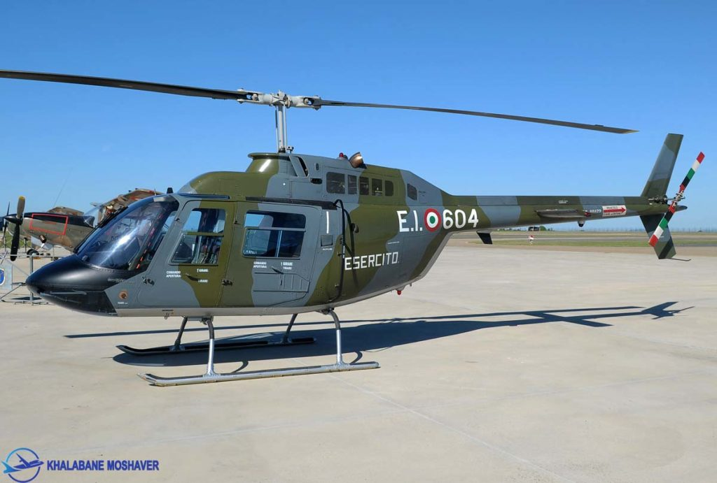 بالگرد نظامی 206 متعلق به ارتش ایتالیا / AB-206A JetRanger Italy