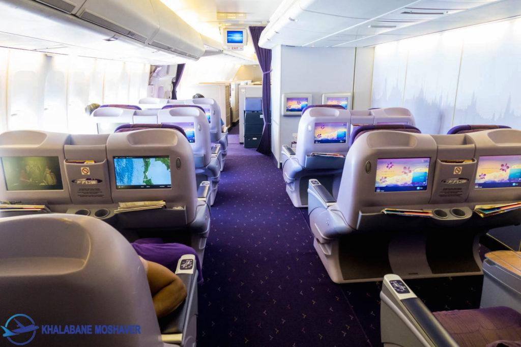Thai Airways 747 Domestic Business 1400px 14 1024x682 - هواپیمای بوئینگ 747