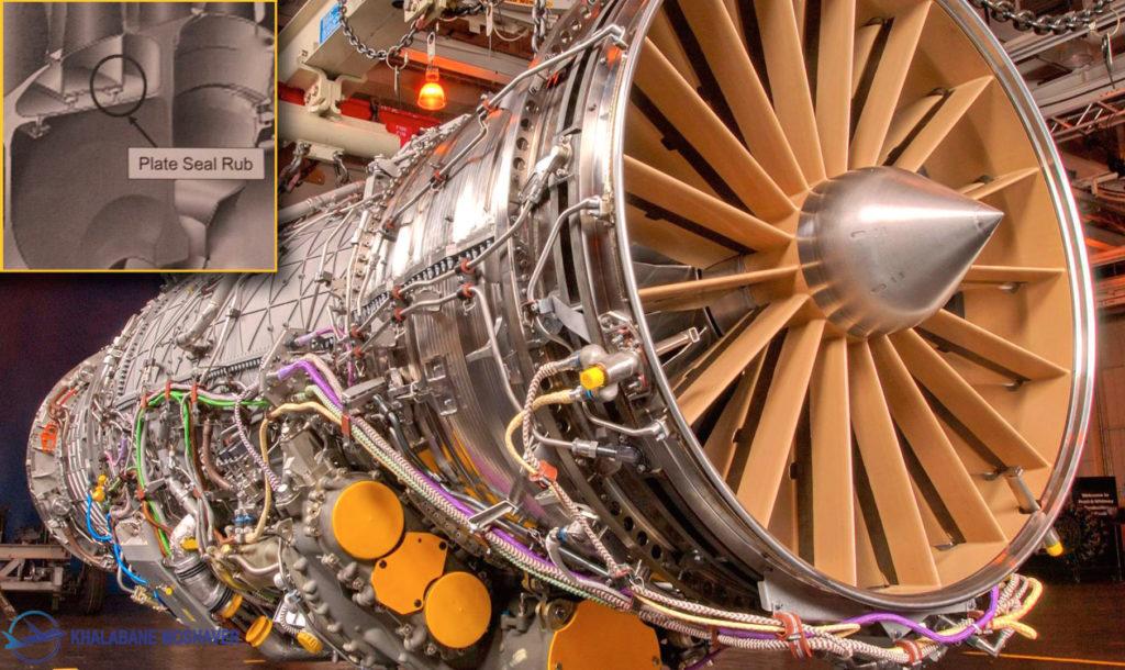 موتور جنگنده f35
