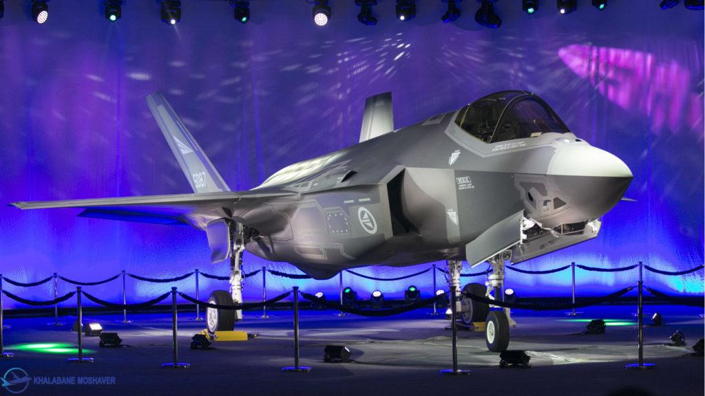 رونمایی از جنگنده f35
