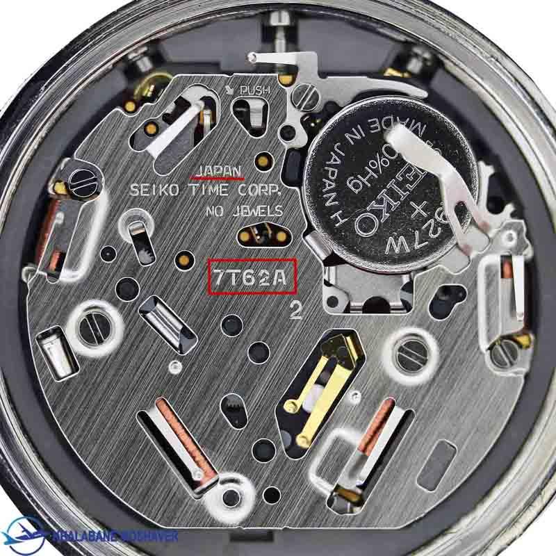 تشخیص اصالت ساعت خلبانی سیکو مدل 7t62