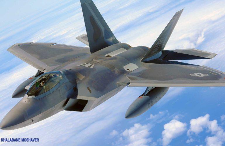 جنگنده قدرتمند اف22