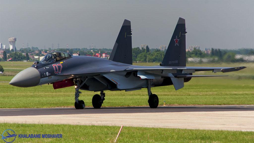 جنگنده روسی سوخو 35 مدل اس / Sukhoi Su-35S