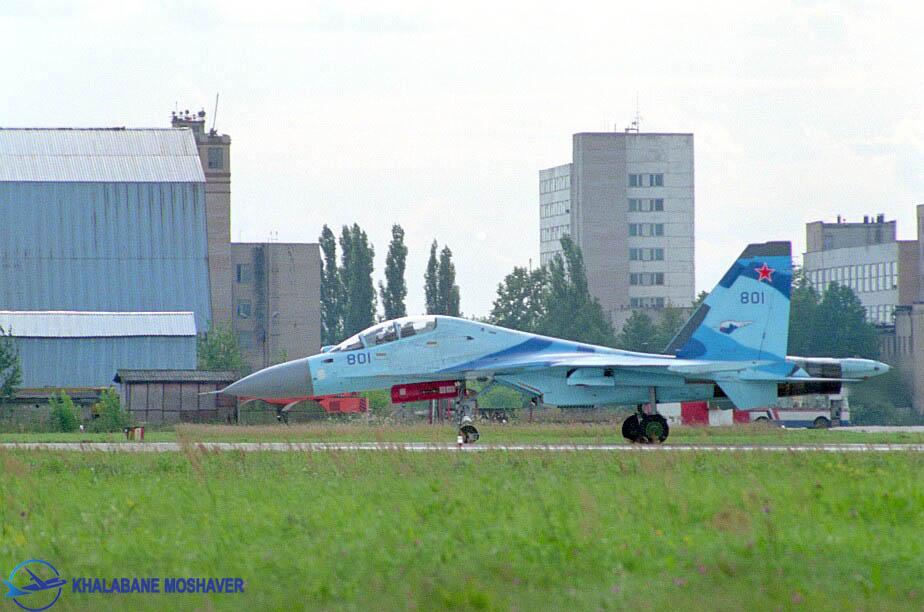 سوخو 35 مدل یوبی / Su-35UB