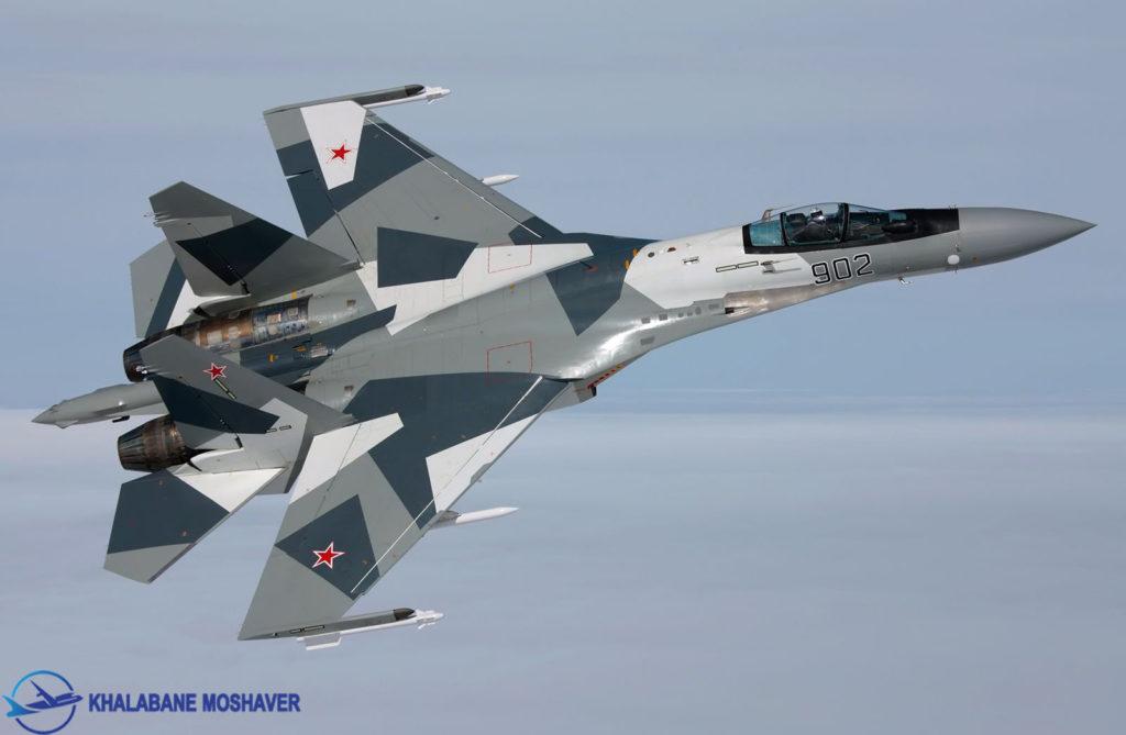 سوخو 35 مدل بی ام / Su-35BM