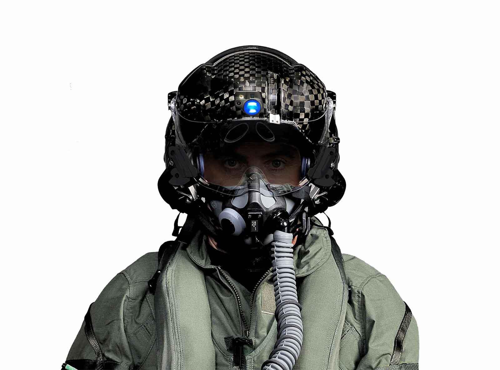 کلاه هلمت خلبان اف22