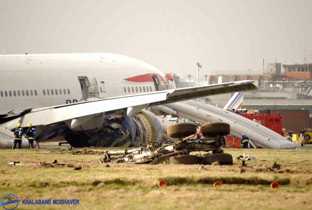 سانحه بوئینگ 777 در پرواز پکن به لندن