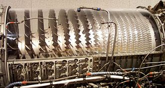 330px Compressor Stage GE J79 - موتور هواپیما