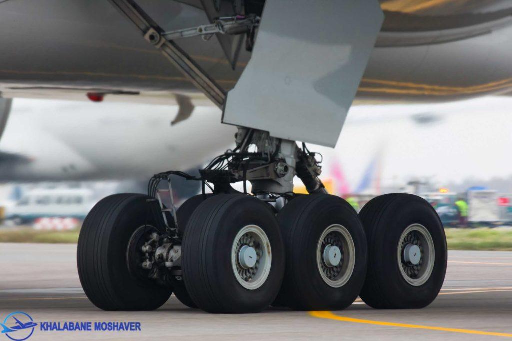 چرخ های بسیار بزرگ بوئینگ 777