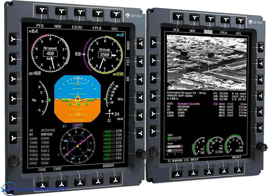 Glance efis 210V 1000 5 4 - جنگنده کوثر