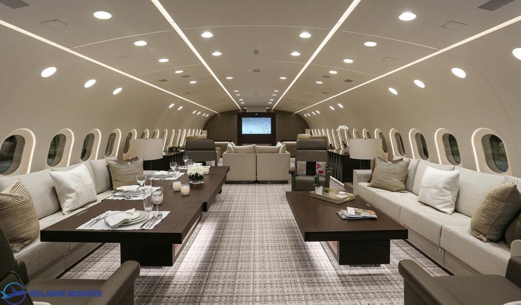 boeing 787 8 main lounge 02 1024x600 - هواپیمای بوئینگ ۷۸۷