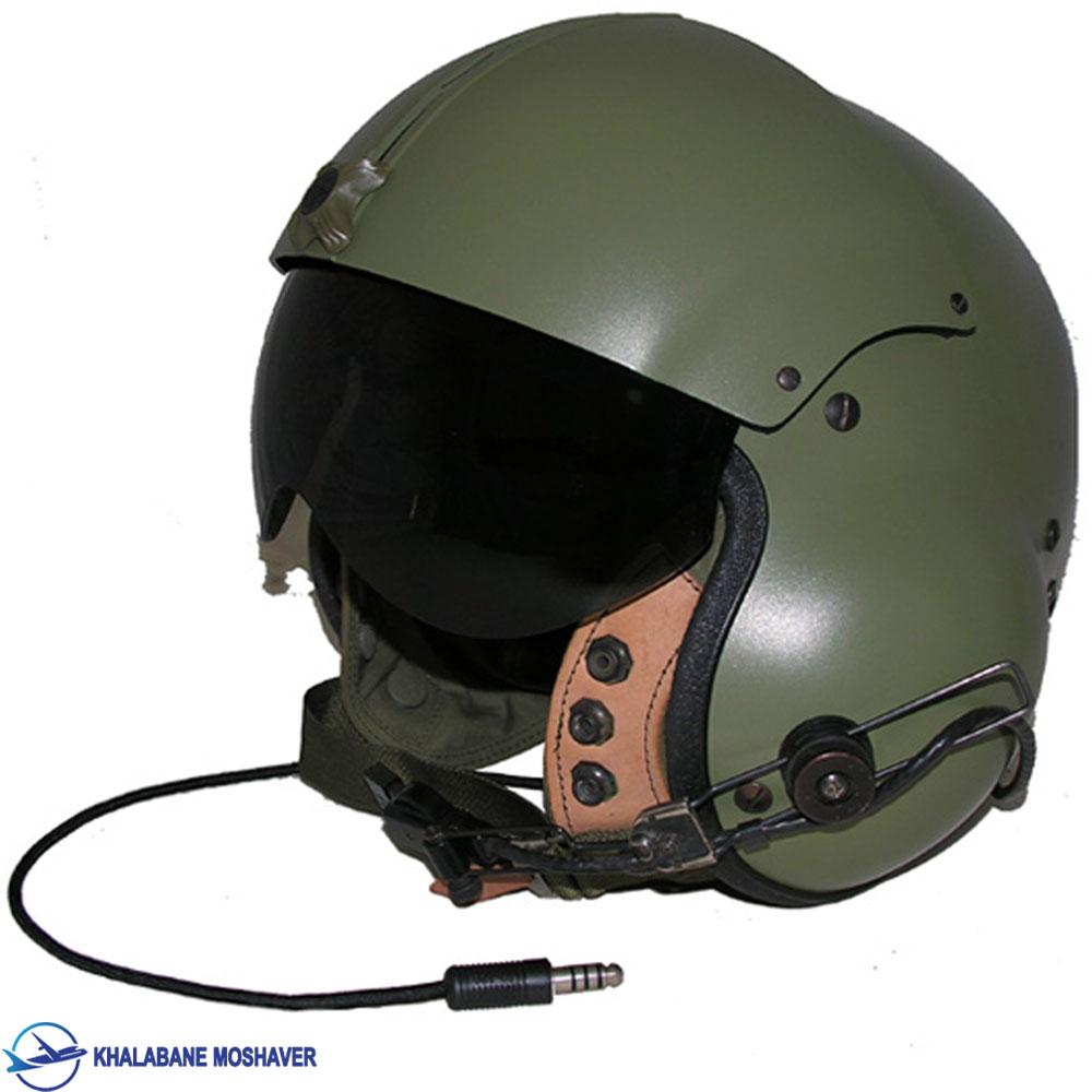 کلاه هلمت خلبانی به همراه وایزر
