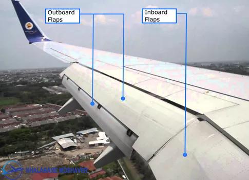 فلپ ها در بال هواپیما