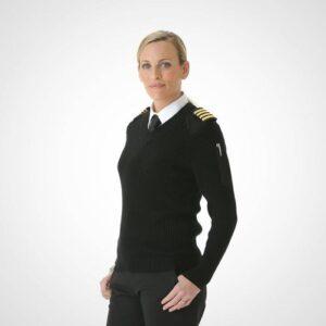 پلیور خلبانی زنانه