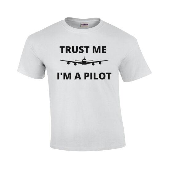 تیشرت خلبانی طرح Trust me