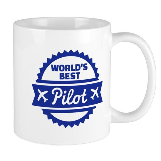 ماگ خلبانی مدل World's best pilot