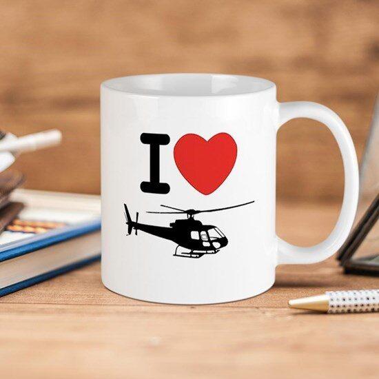 ماگ خلبانی طرح هلیکوپتر