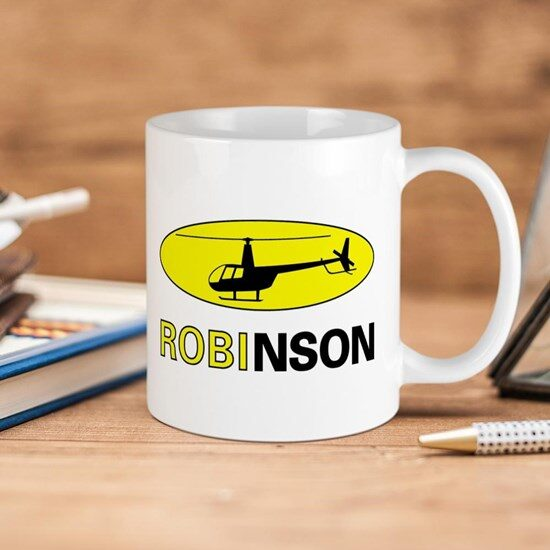 ماگ خلبانی هلیکوپتر Robinson