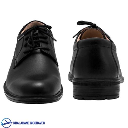 کفش چرم فرم خلبانی